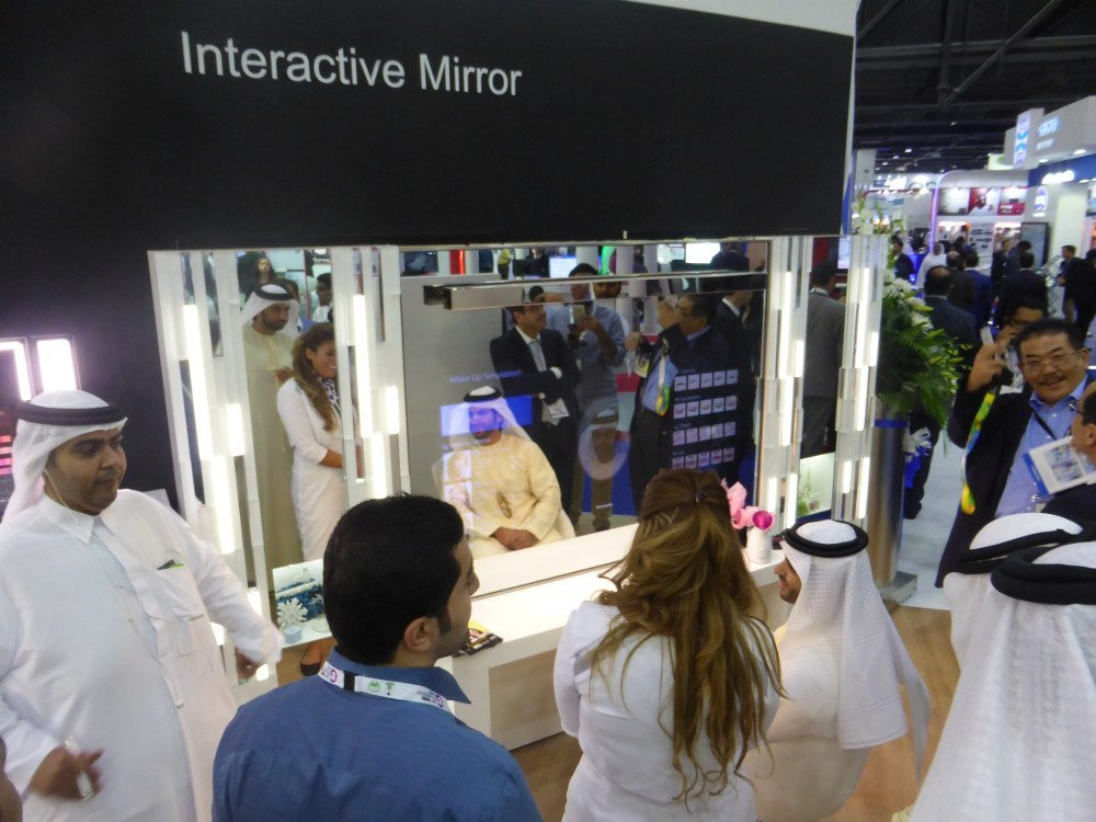 Panasonic Interactive Mirror (Photo: invidis)