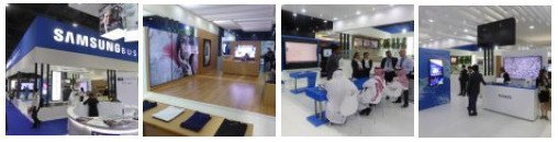 Samsung Digital Signage at Gitex 2015 - Photo gallery