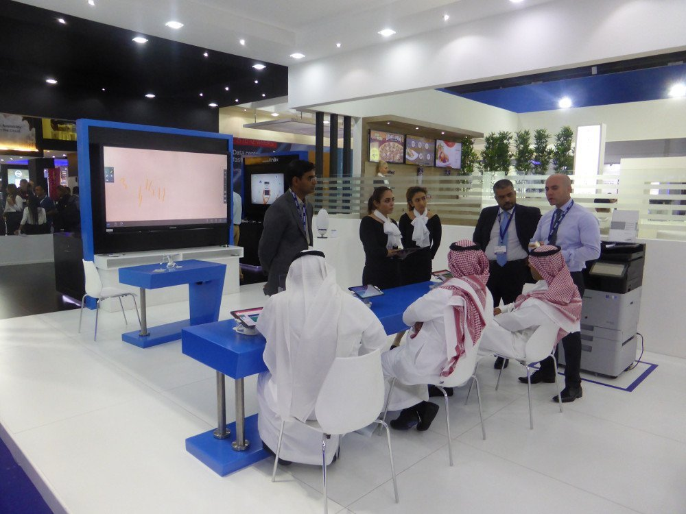 Educatiion is key - samsung Gitex booth (Photo: invidis)