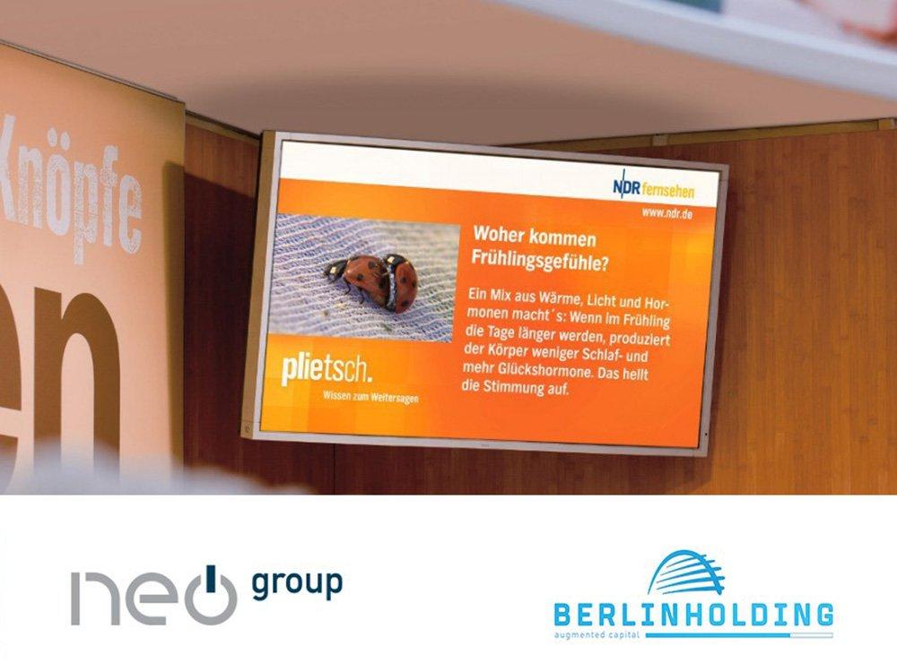 Berlin Holding steigt bei Neo ein (Foto: Unternehmen)