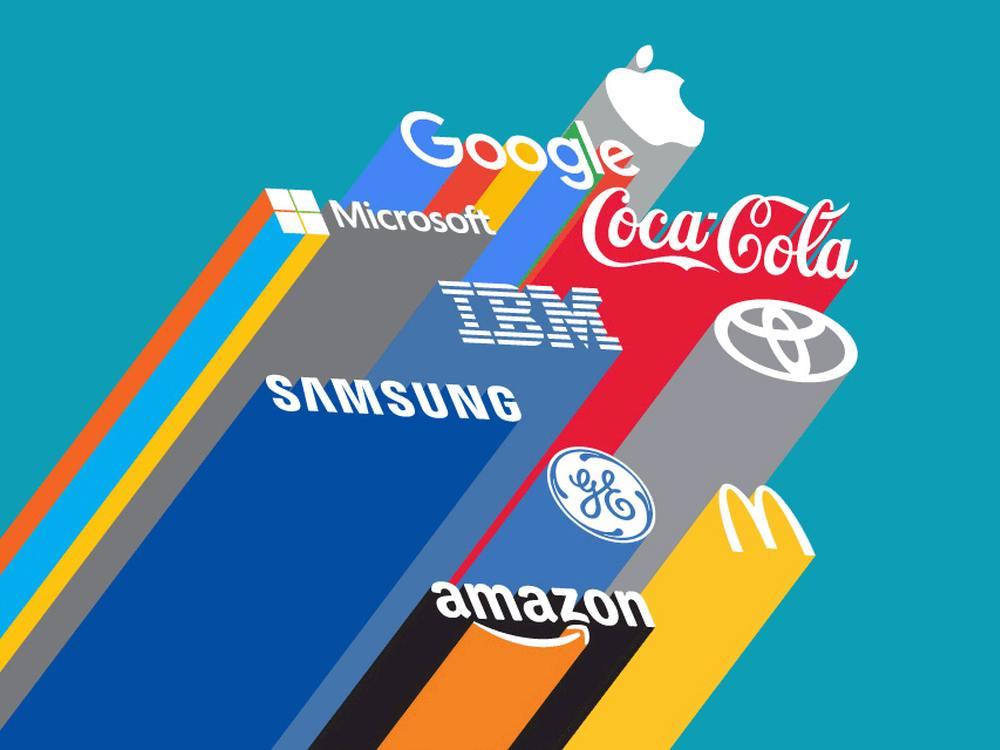 Aktuelle Top 10 der Best Global Brands (Grafik: Interbrand)