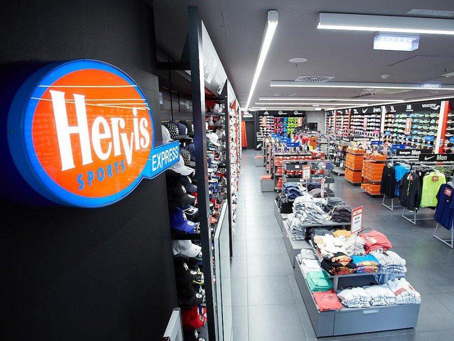 Arbeitet nach dem neuen Konzept - Hervis Filiale in BahnhofCity Wien West (Foto: Hervis/APA-Fotoservice/Preiss)