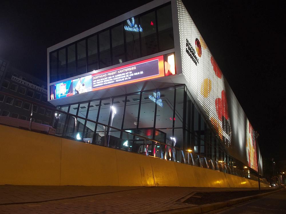 Bloß einen Freistoß vom HBF Dortmund entfernt - Deutsches Fubßballmuseum (Foto: invidis)