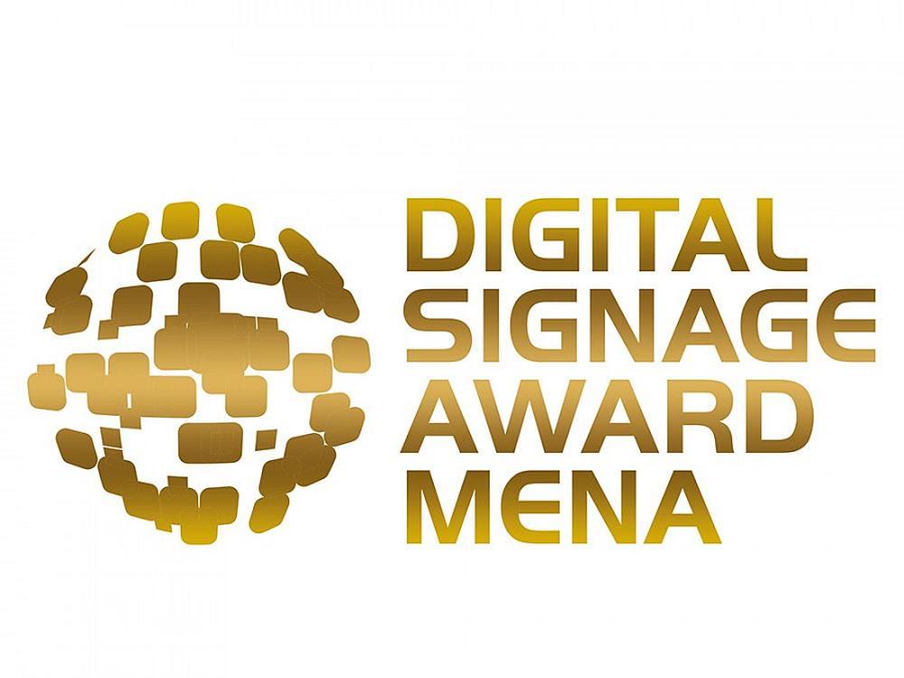 Gesucht für die Digital Signage Awards MENA - die besten Digital Signage Projekte aus den Regionen GCC und MENA (Grafik: invidis)