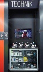 Hervis-Filiale - einzelner Screen in der Technikabteilung (Foto: Hervis/APA-Fotoservice/Preiss)