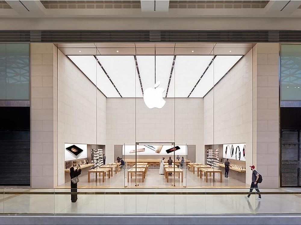 In der Yas Mall wurde einer der beiden ersten Apple Stros in den VAE eröffnet (Foto: Apple)