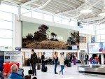Neuer LED Screen am Airport Sola in Stavanger (Foto: Absen)