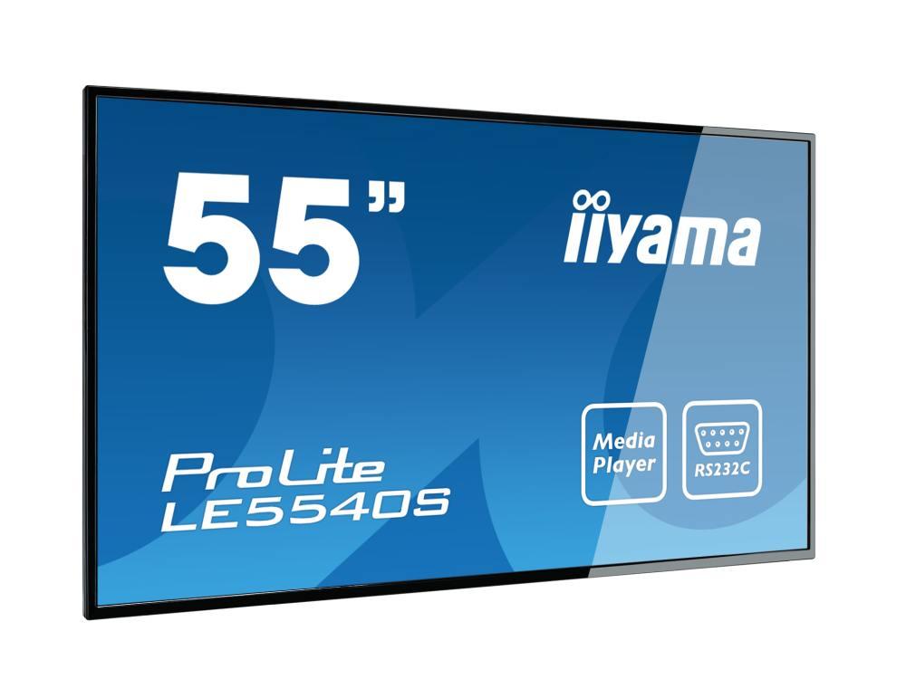 Neuer Large Fornat Screen LE5540S-B1 (Foto: iiyama)