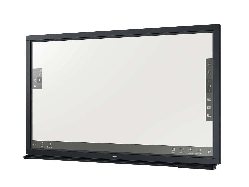 Neues interaktives Whiteboard DM65E-BR (Foto: Samsung)
