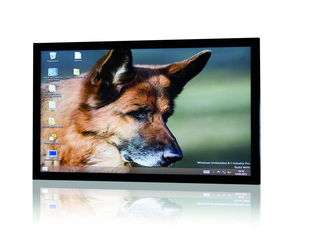 Skylake-befeuerte Ultra HD Power - neuer Polytouch 55 4K (Foto: Polytouch)