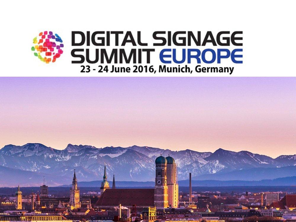 Digital Signage Summit 2016 - Save the Date (Image: invidis)