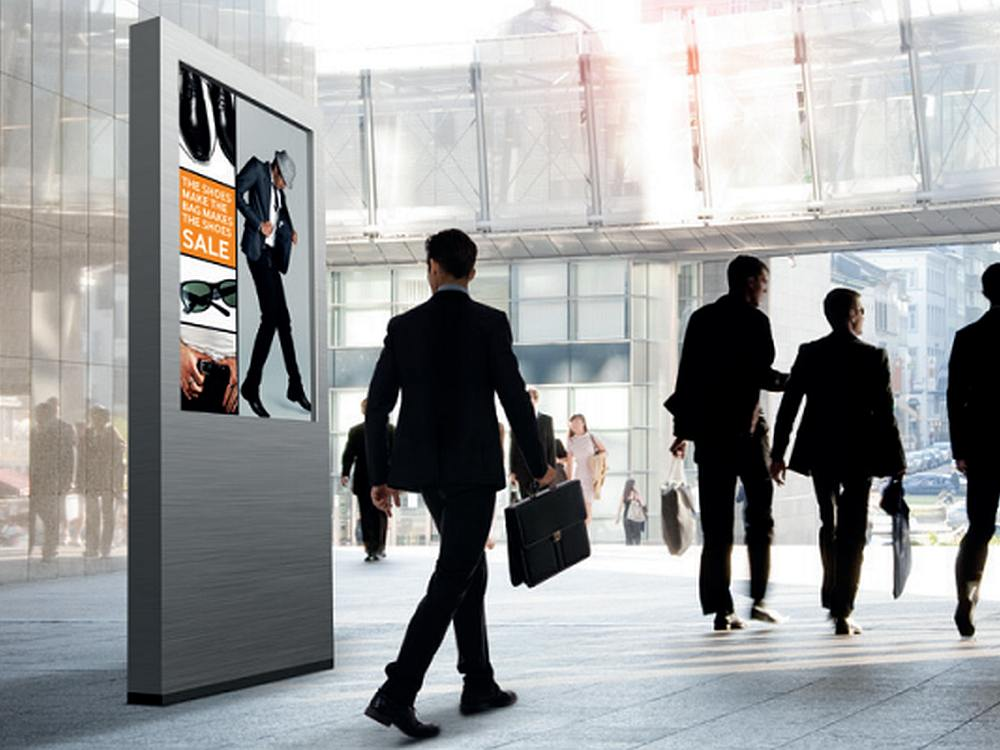 Smart Signage Screen von Samsung (Foto: Samsung)