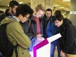 Studierende aus den MINT Fächern sollen für Evonik begeistert werden (Foto: OMD)