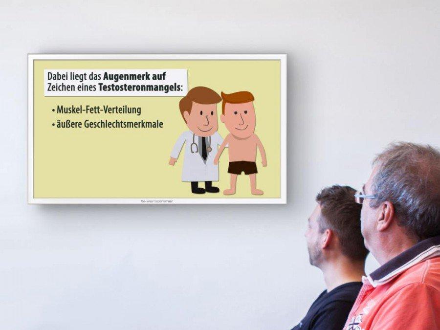 Zielgruppe Mann - TV-Wartezimmer macht den November zum Männer-Monat (Foto:TV-Wartezimmer)