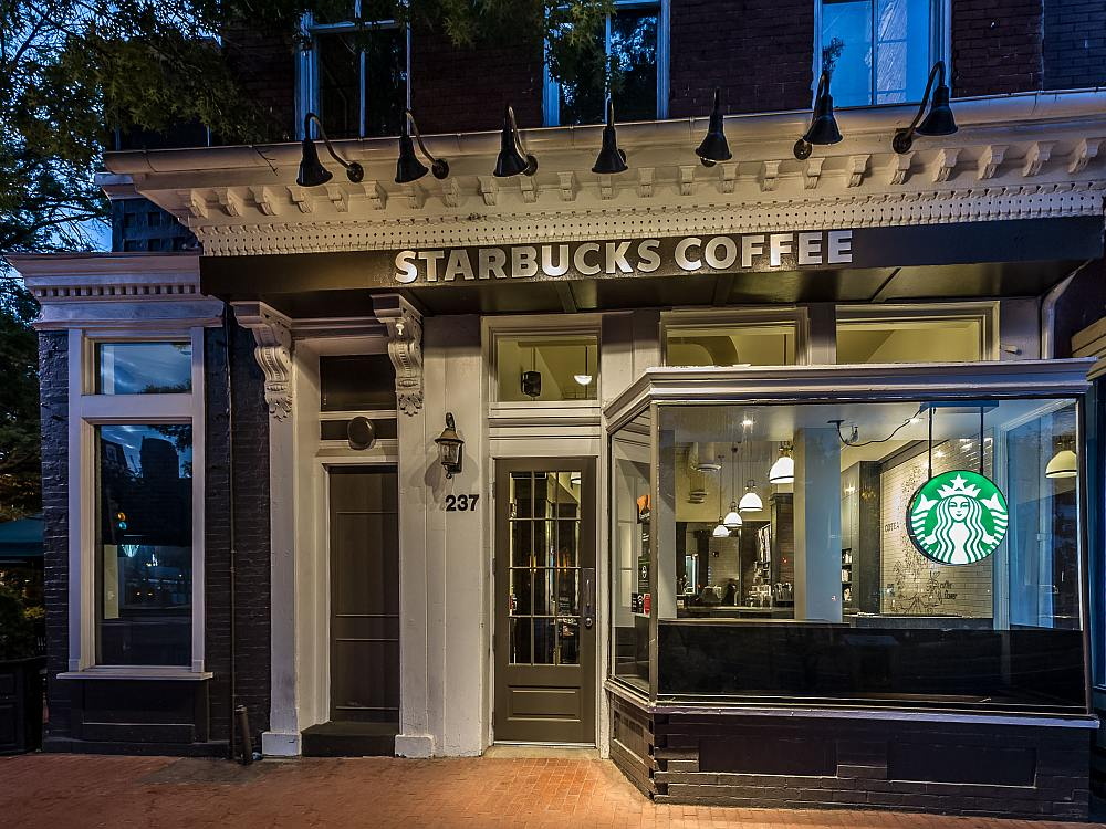 Kein Drive-Thru, also auch künftig ohne Outdoor Screen - Starbucks Store, Capitol Hill, Washington, D.C. (Foto: Starbucks)