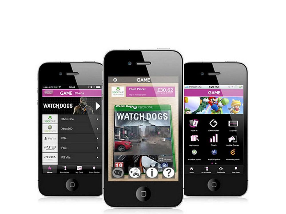 Blick auf die GAMES App, die nun AR Fuktionen enthält (Foto: Ads Reality)