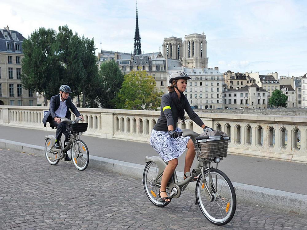 Cyclocity Bikes von JCDecaux in Paris (Foto: JCDecaux)