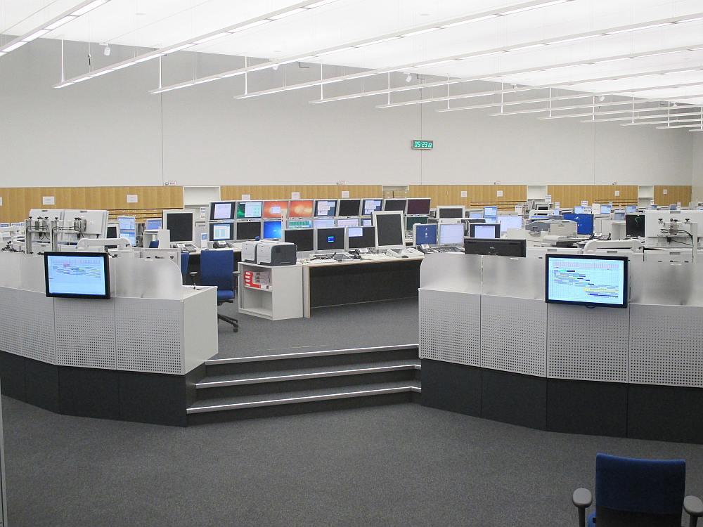 DFS in Langen - Touchdisplays an der Brücke (Foto: Werkstation)
