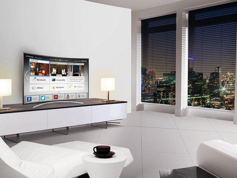 Hotelzimmer mit Screen von Samsung - künftig setzt die Accor Gruppe auf Lösungen des Herstellers (Foto: Samsung)
