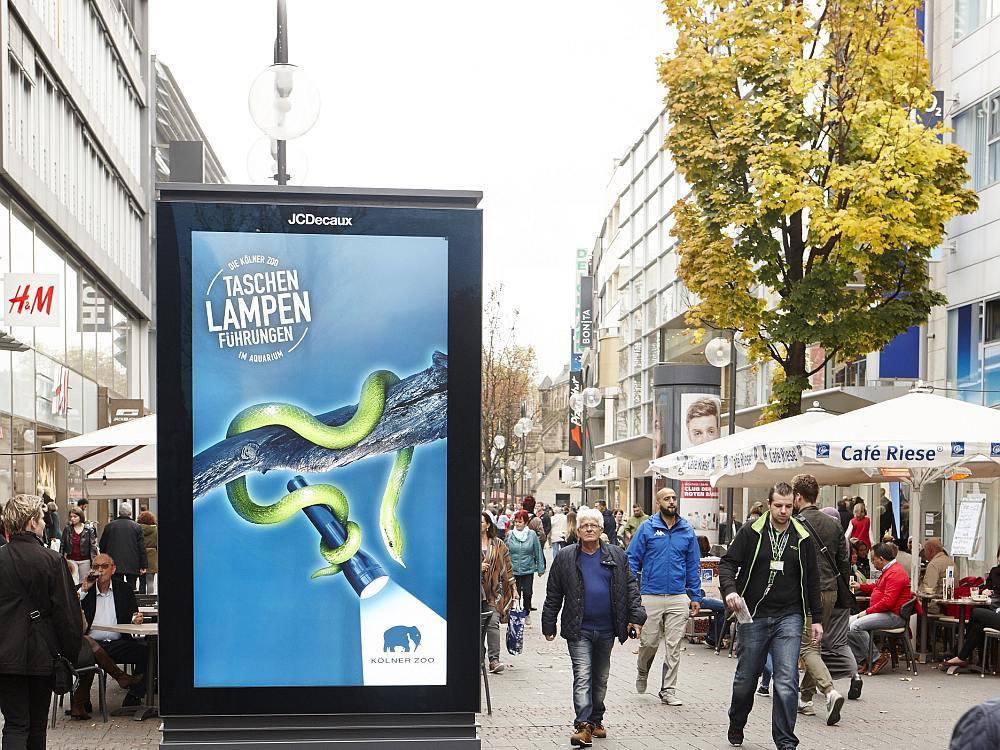 In Köln gehen nun die ersten DCLPs ans Netz (Foto: JCDecaux)