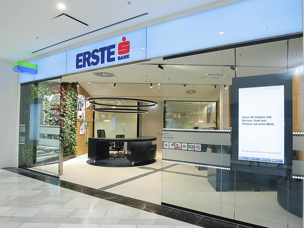 Klein, kompakt und Multichannel - Erste Bank Filialein der Shopping City Süd (Foto: Daniel Hinterramskogler / Erste Bank)