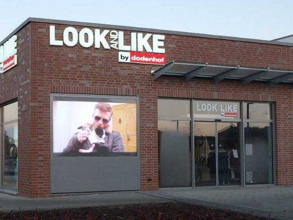 Digital Signage Im Einzelhandel Led Signage In Neuem Dodenhof