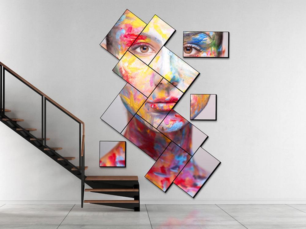 Nicht bloß 5x5 möglich - mit Userful umgesetzte Artistic Video Wall (Foto: Userful)