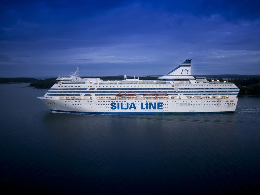 Ostseefähre MS Serenade auf See (Foto: Tallink Silja / Jokemedia)