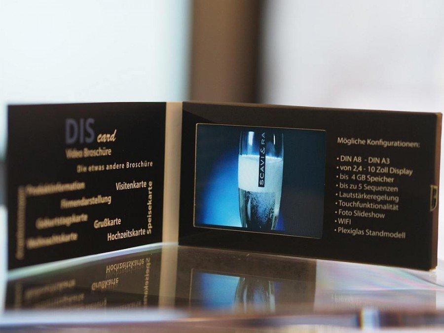 Premium Qualität im Mini Format - auf der DIScard wirkt der Content absolut crispy (Foto: invidis)