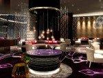 Runde 360° MultiTouch Bar-Tische in der Skybar des Hyatt Istanbul (Foto:Viscom)