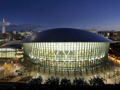 Taipei Arena von außen (Foto: Scala)