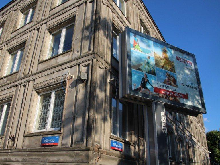 Ströer Plakatfläche in Warschau (Foto: invidis)