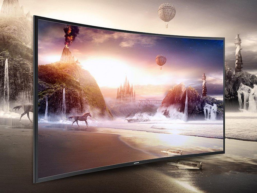 Curved UHD TV - Symbolbild (Foto: Samsung Display Corp.)