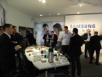 Diskussion während der Pause im Schwalbacher Samsung Office (Foto: invidis)