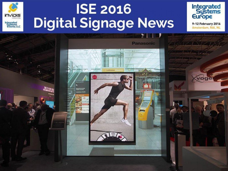 ISE 2016 - Blick auf den Vorjahres-Stand von Panasonic (Foto: invidis)
