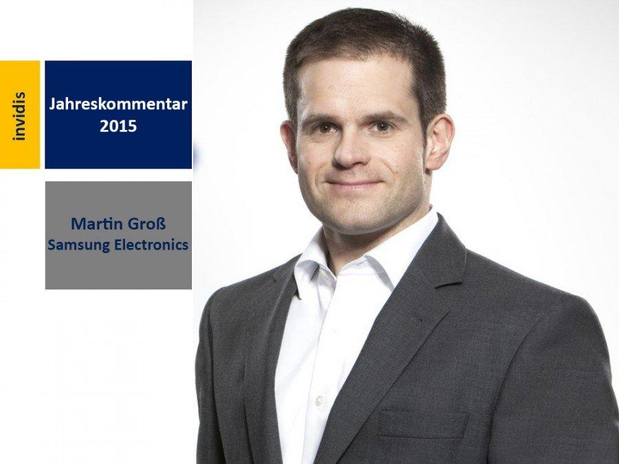 Digital Signage-Jahreskommentar 2015: Martin Groß (Bild: Samsung)