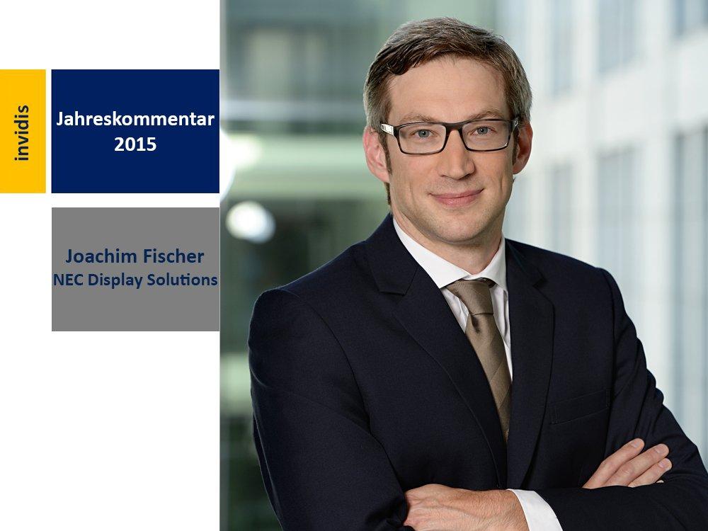 Digital Signage-Jahreskommentar 2015: Jochim Fischer (Bild: NEC)