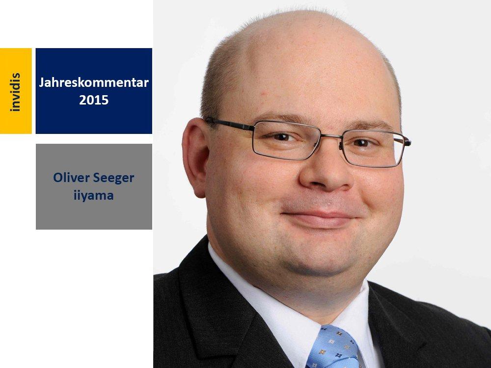 Digital Signage-Jahreskommentar 2015: Oliver Seeger (Bild: iiyama International)