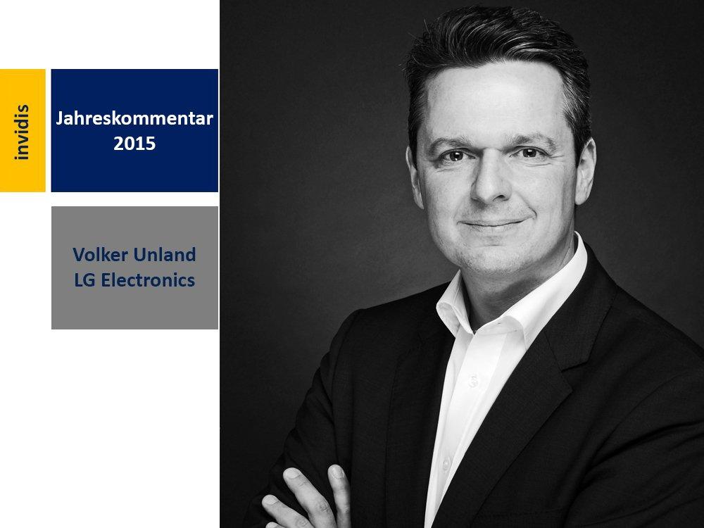 Digital Signage-Jahreskommentar 2015: Volker Unland (Bild: LG Electronics)