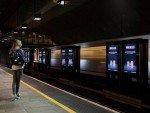 Kampagne für Pepsi auf Screens in einer norwegischen U-Bahnstation (Foto: Clear Channel Norway)