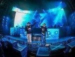 LED Signage gehörte zur Show Sido Tour 2015 (Foto: Ralph Larmann)