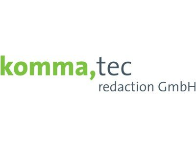 komma,tec sucht Junior Softwareentwickler (m/w) (Logo: komma,tec)