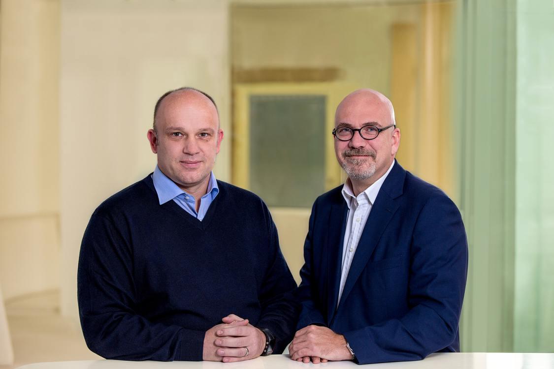 Plan.Net Business Intelligence - Marcus Ambrus (l.) und Michael Rau (r.) führen das neue Joint Venture (Foto: Serviceplan)