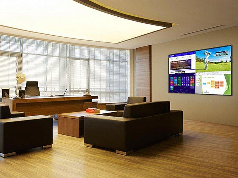 Planar UltraRes Series 4K Screen im Einsatz im Vertical Corporate (Foto: Planar)
