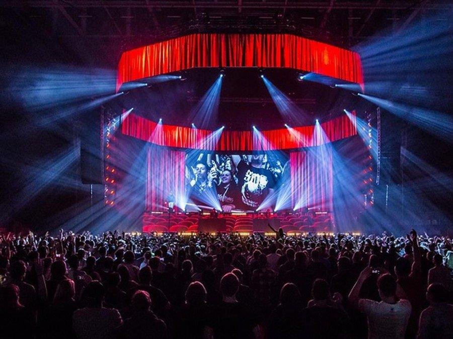 Sido Tour 2015 in der SAP Arena Mannheim (Foto: Ralph Larmann)