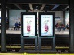 Softdrink Werbung auf DooH Screen (Foto: Clear Channel Norway)