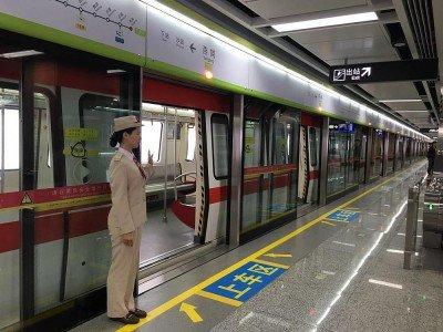 Zug der Guangzhou Metro Corporation im Großraum Kanton (Foto: Guangzhou Metro Corporation)