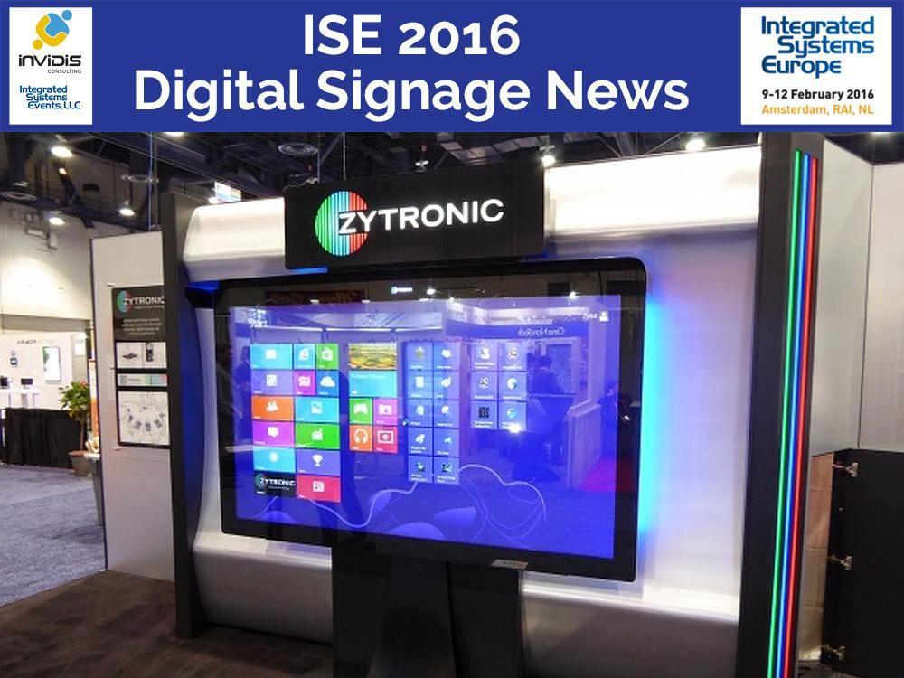 Zytronic Stand auf der DSE 2015 in Las Vegas (Foto: Zytronic; Grafik/ Montage: invidis)