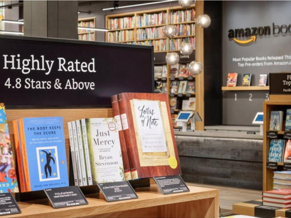 Bald auch ein Store in Berlin? - Amazon Books in Seattle (Foto: Amazon)