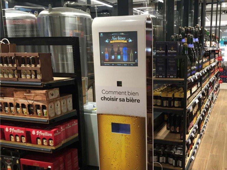 Bier-Paradies Belgien - Auswahl aus 600 Sorten bei Carrefour (Foto: xplace)